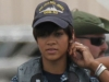 Rihanna BATTLESHIP movie image on set image