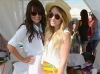 Actress Lea Michele (L) and Lauren Conrad Photo by Chris Weeks/WireImage