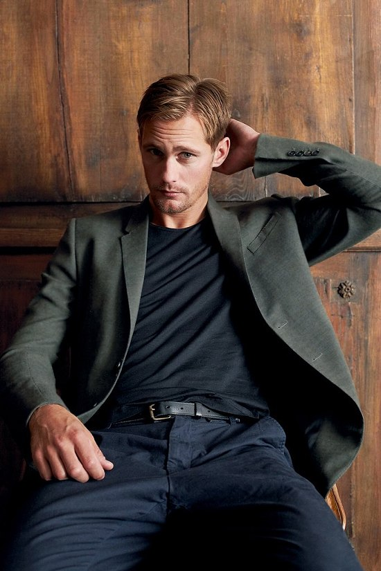 Alexander Skarsgard GQ Germany