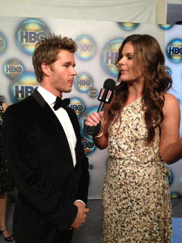 Ryan Kwanten HBO Golden Globes party