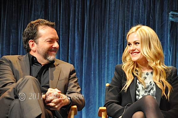 Alan Ball and Anna Paquin, PaleyFest 2011
